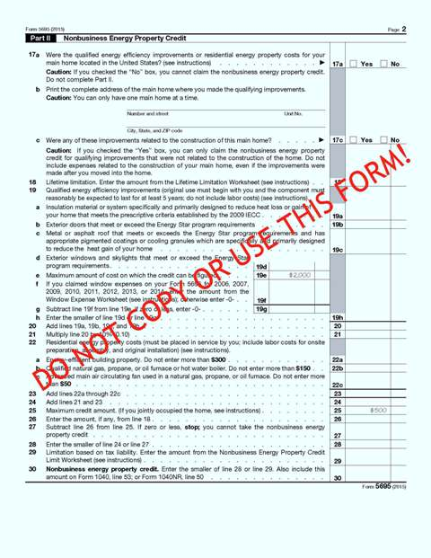 IRS Form 5695 2015 Pg 2