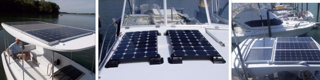 glass solar panel deck