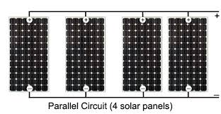 solar panels in parallel